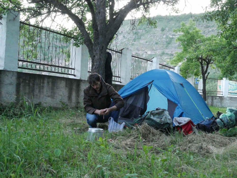 Camping in Orheiul Vechi
