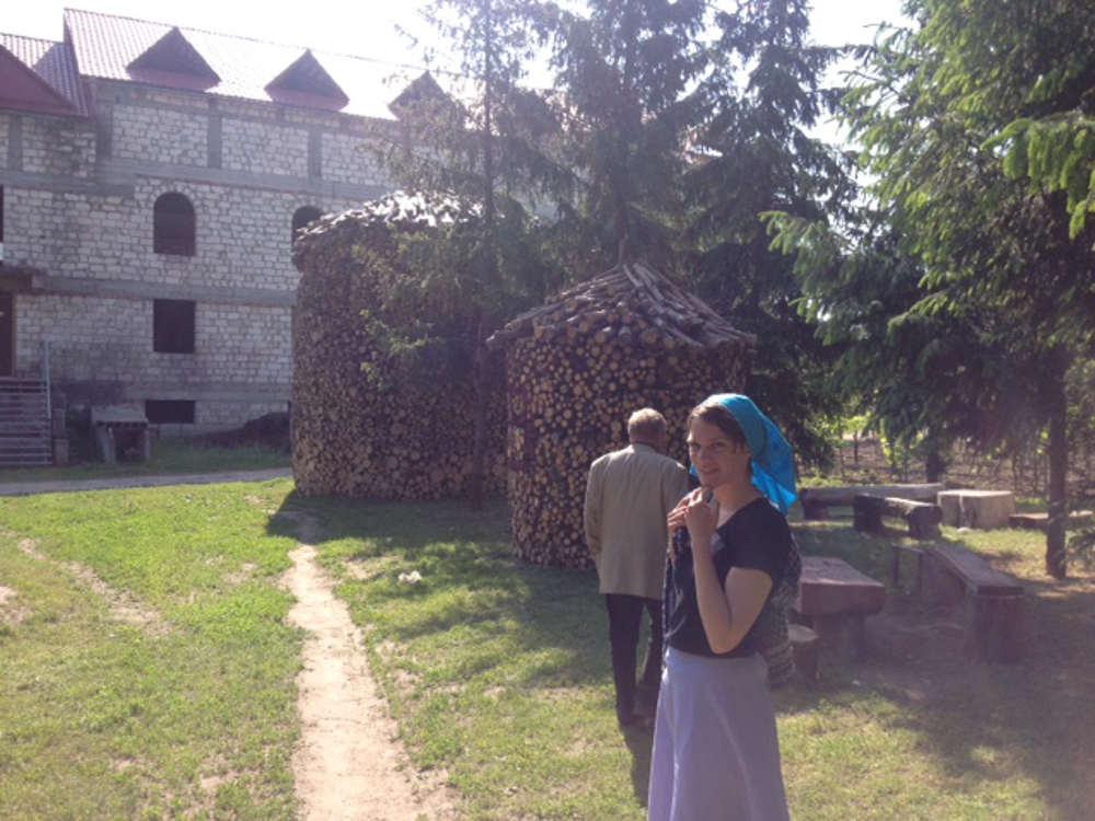 Monastery in Chitcani