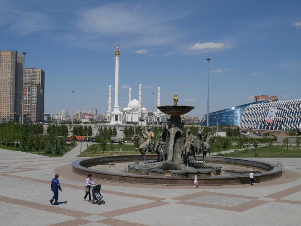 Astana highrises