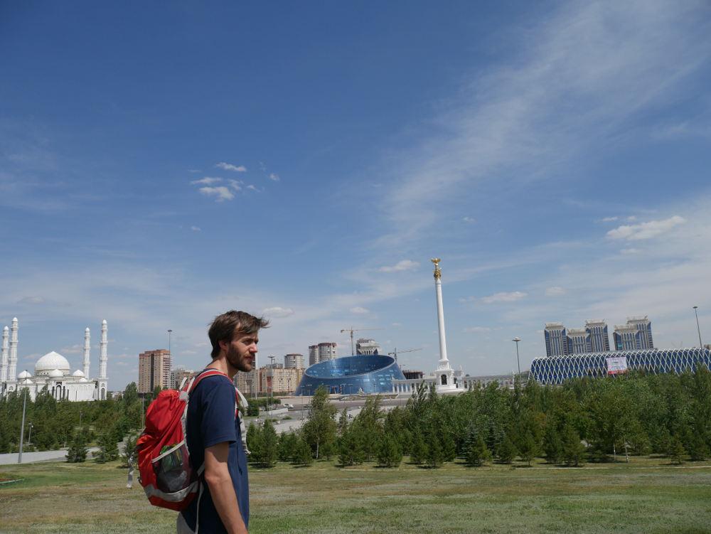 Jeroen in Astana
