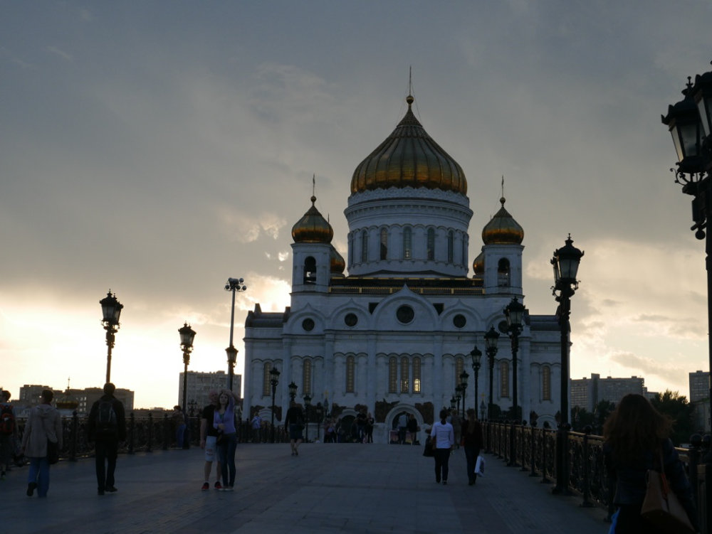 Christ the saviour church, Moscow