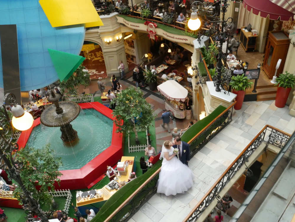 Shopping mall, Moscow