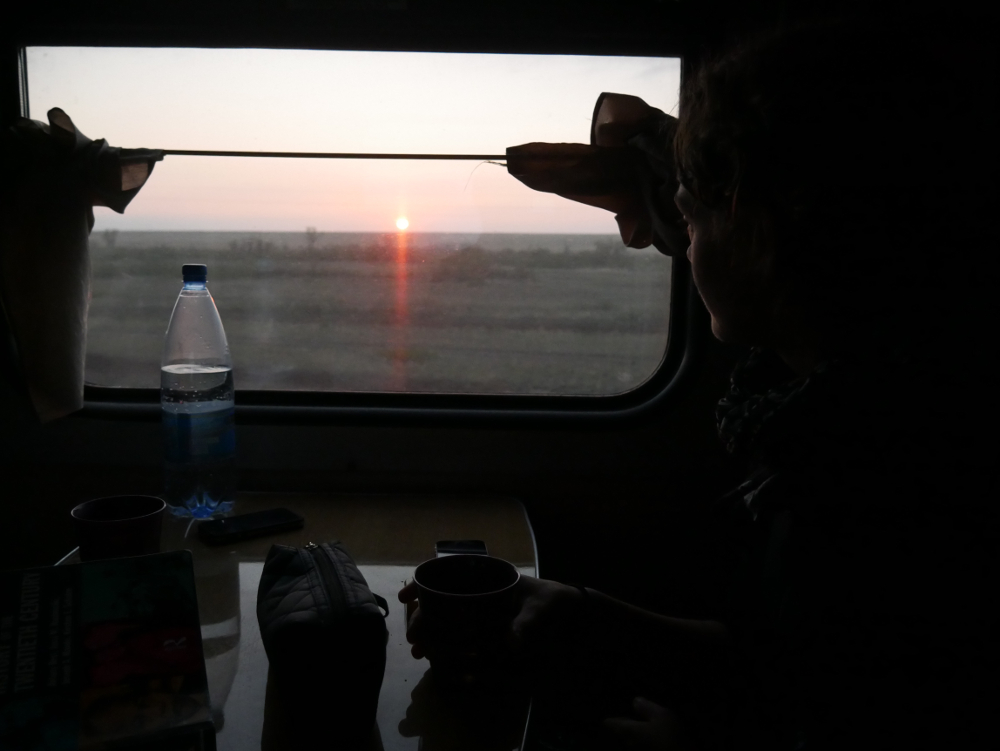 Train to Astana