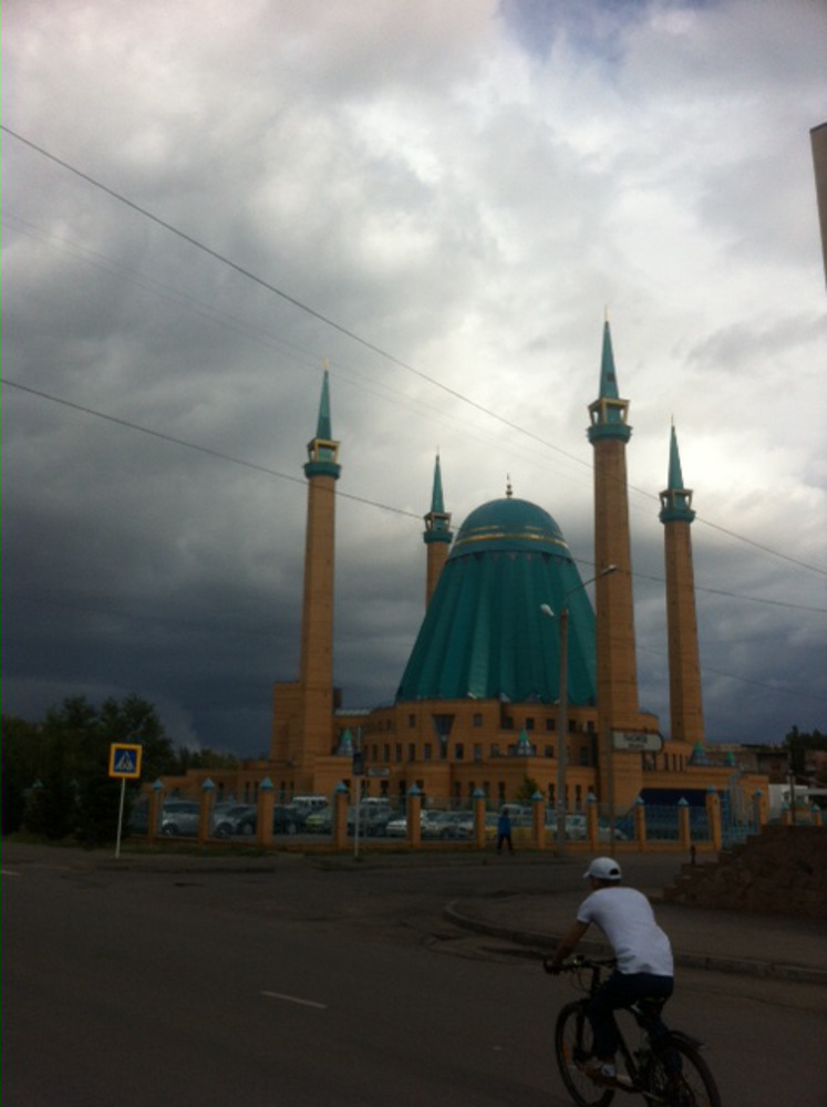 Mosque in Pavlodar