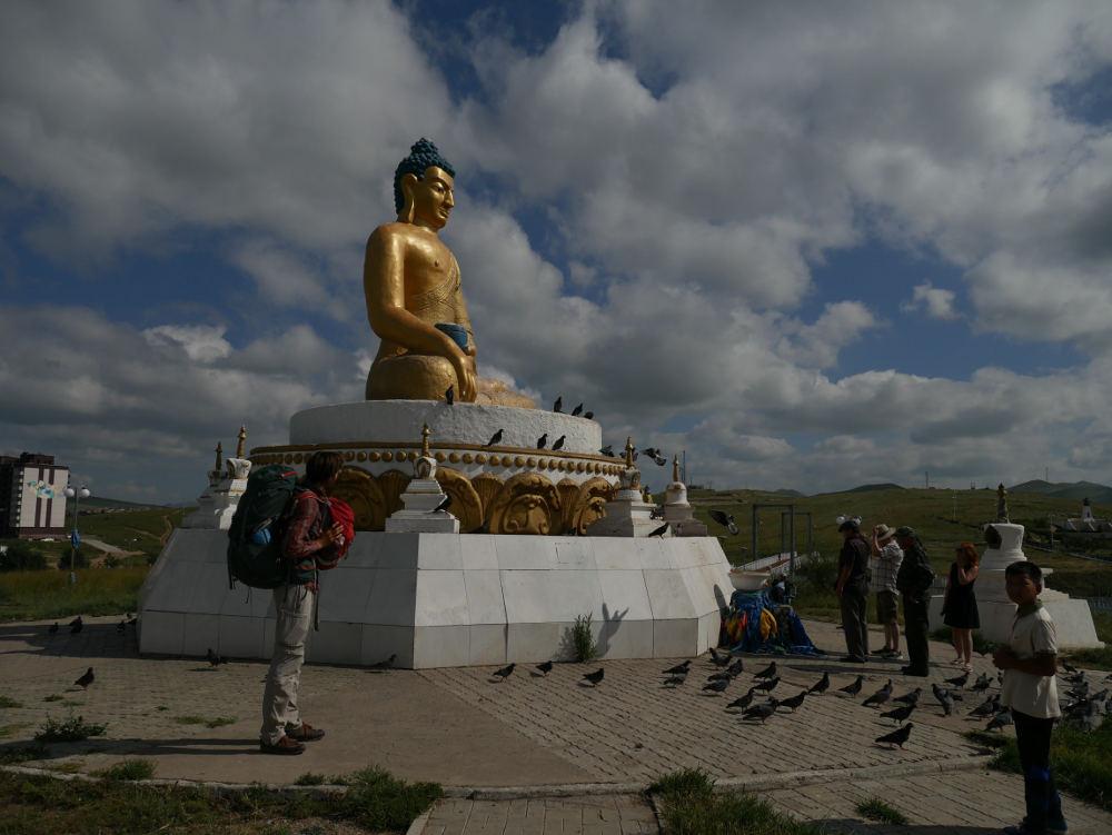 Stumbling across a giant Buddha